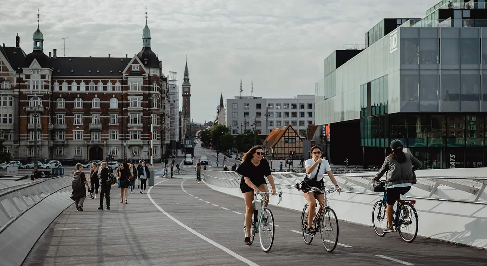 Bicycle brige, Copenhagen